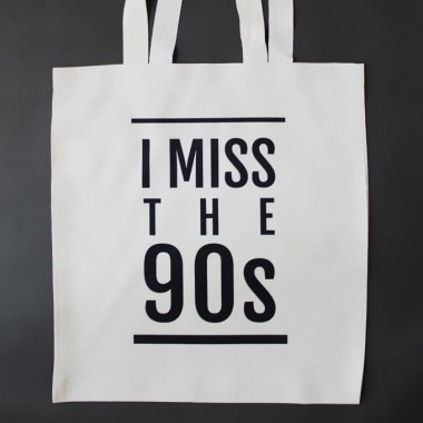 I Miss the 90s Tote Bag