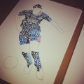 The Blue Footballer