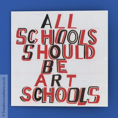 All schools should be art schools