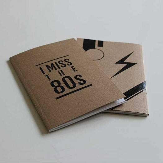 I Miss the 80s Notebook