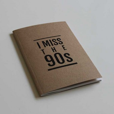 I Miss the 90s Notebook