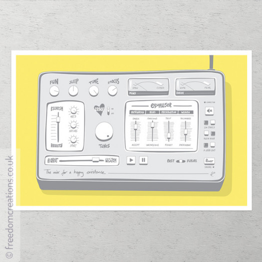 The Mix For A Happy Existence - Grey