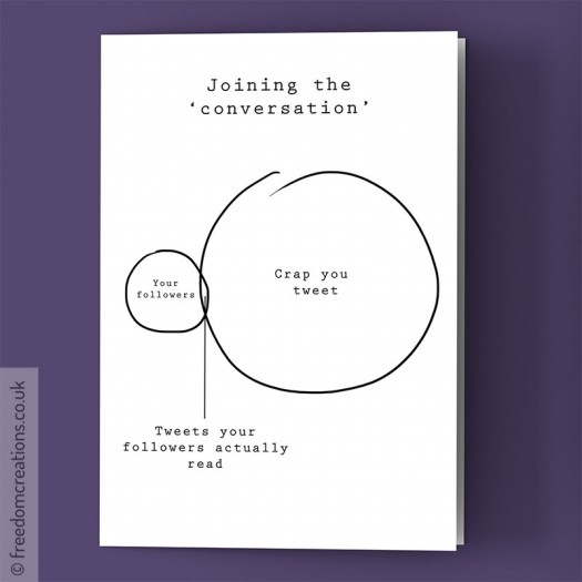 Joining the 'conversation'