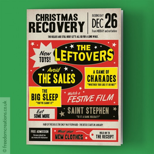 Christmas Recovery