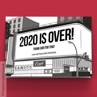 Happy Xmas (2020 Is Over) Billboard
