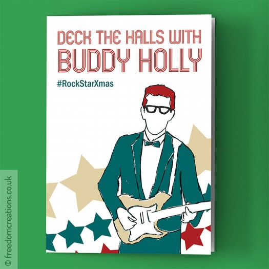 Deck The Halls With Buddy Holly