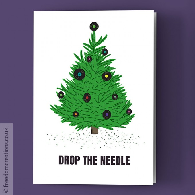 Christmas Card Images.Dj Christmas Card Drop The Needle Vinyl Collector